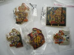 Lot Of G - Gwiz The Clown Balloon Official Pins
