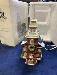 Heritage New England Village Collection Dept 56 Old North Church Christmas 59323