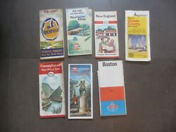 15 Vintage Road Maps Ny/nj Boston And Others - Free