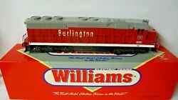 Williams = Sd - 45 Burlington Locomotive Cab 880 With Horn And Bell Boxed