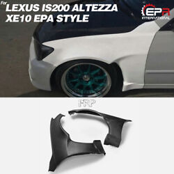 Epa Style Frp Front Fender Flares Kits +35mm For 98-05 Lexus Is200 Altezza Xe10