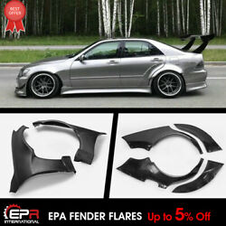 Epa Style Frp Front And Rear Fender Flares Kits For 98-05 Lexus Is200 Altezza Xe10