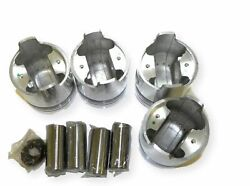 Federal Mogul P12196p100mm Engine Pistons Kit Of 4 Pcs Fits Ford Tractor