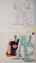 Dragon Ball Z Son Goku Vs Frieza Cel Picture Anime Jp Production And Video