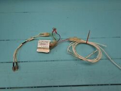 Pa23 Piper Aztec F Alternator Inop Switch With Panel Lights