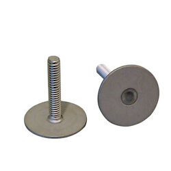 Weld Mount 1 Tall Stainless Stud W/1/4 X 20 Threads - Qty. 10