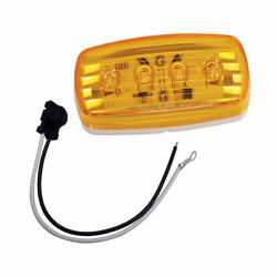 Wesbar Led Clearance/side Marker Light - Amber 58 W/pigtail