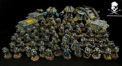 Warhammer 40k Red Scorpions Forge World Army Painted By Studio Space Marines