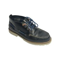 Sperry Top-sider Mens A/o Lug Chukka Waterproof Blue Boots Leather 9m
