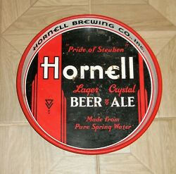 Hornell Beer Ale Pride Of Steuben 13 Beer Tray Hornell Ny