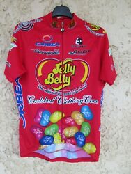 Maillot Cycliste Jelly Belly Carlsbad Clothing.com 2003 Vintage Shirt Trikot L