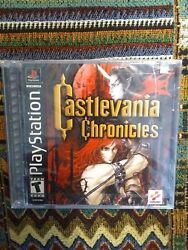 Castlevania Chronicles Brand New Factory Sealed Playstation 1 Ps1