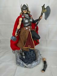 Marvel Sideshow Collectible Jane Foster Thor Permium Format Figure- Exclusive