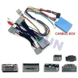 16pin Car Android Audio Wiring Harness W/ Canbus For 20082012 Honda Accord 8th
