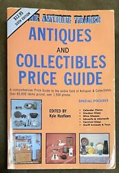 1990 The Antique Trader Antiques And Collectibles Price Guide Trade Size Euc