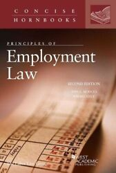 Principles Of Employment Law Concise Hornbook Series By Hodges, Ann|gely, R…