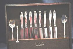 Prelude By International Sterling Flatware Set For 8 With Servers