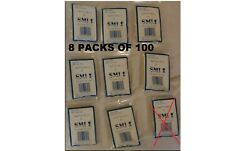 Trading Card Soft Sleeve Premier By Smi 800 Sleeves – Lot Of 8 100 Each Pack