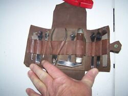 Clauss Knife And Tool Kit Made By Case