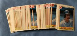 Lot Of 625 1984 Topps Cereal Ralston Purina Wade Boggs Baseball Card 11 Of 33