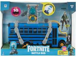 Fortnite Battle Bus Jazwares Deluxe Toy W/ Jonesy Action Figure Sold Out