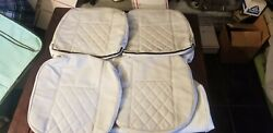 Ih Scout 80 Full Set Diamon Pattern Cream Upholstery Scout Ii Ih International