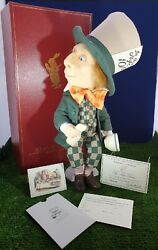 Alice In Wonderland By R John Wright Mad Hatter Limited Edition Boxed