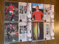 24 Manchester United Collectors Postcards - Unopened - George Best - Matt Musby