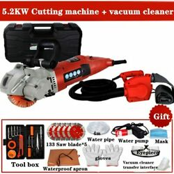 Electric Wall Cutting Machine Chaser Groove Slotting Steel Concrete 4.0kw + 4.8k