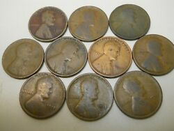 1 Roll Of Problem 1912 Lincoln Head Pennies. Combined Shipping.