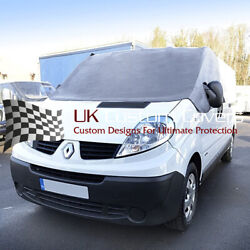 Renault Trafic 2001-2014 Deluxe Windscreen Screen Frost Wrap Cover 251 Grey