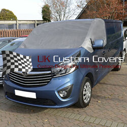 Renault Trafic 2014 On Deluxe Windscreen Screen Curtain Wrap Cover 251 Grey