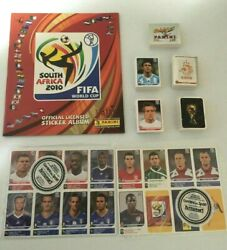 Panini South Africa 2010 World Cup Complete Loose Stickers Set + Album + Update