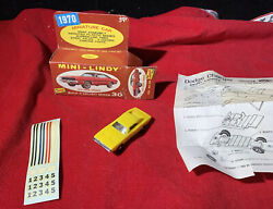 Rare 1970 Chrysler Dodge Charger Mini-lindy 30 With Box Stickers Instructions
