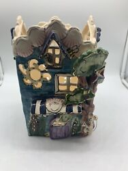 Blue Sky Clayworks Heather Goldminc Shell House 2001 Collectible