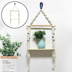 Bohemian Tapestry Shelf Wall Hanging Macrame Rack Wall Decoration Crafts