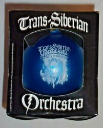 New Rare Trans Siberian Orchestra Christmas Ornament 2019 Winter Tour Wolf Blue