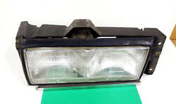 1987 1988 Cadillac Deville Fleetwood Right Headlight Assembly Fwd Cars 16507582