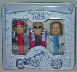 Pez Orange County Choppers Metal Box With Collectible Dispensers New In Package