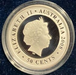 Australia 2008 50 Cents Proclamation Coins 1787 Tribute Shilling Silver Proof