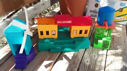Used - Lionel - Thomas The Tank Model Railroad Buildings - Lot Of 3