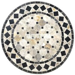 42 Marble Mosaic Table Top Marquetry Arts Inlay Decorative Furniture Home Decor