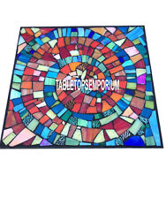 42 Beautiful Multi Marble Square Table Top Mosaic Handmade Inlay Garden Décor