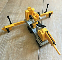 Transformers Erector Crane G1 Complete Micromaster Transports