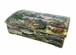 Abalone Shell And Rosewood Lined Box