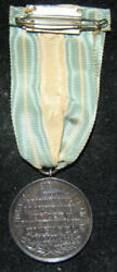 Herzl 6th Zionist Congress Special Jewish Gymnasts Performance Medal And Ribbon