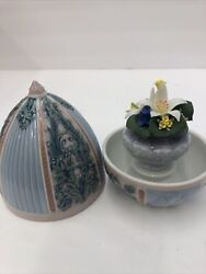 Lladro Collectibles Hand Made Figurine Spring Egg Item 06292