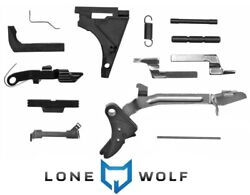 Lone Wolf Lwd Parts Kit For Glock 19 23 Compact Polymer Frame P80 Trigger