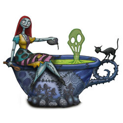 The Nightmare Before Christmas Cheers to Fears Sally Glow In The Dark Figurine