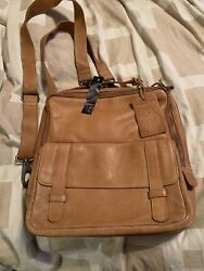 Latico Women's Hester Camel Color Backpack